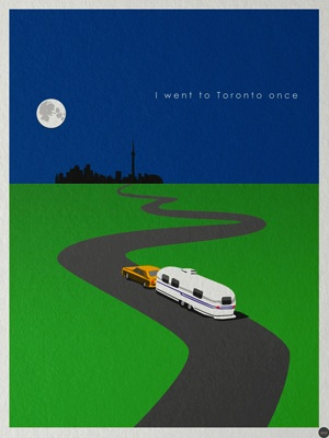 I went once to toronto poster