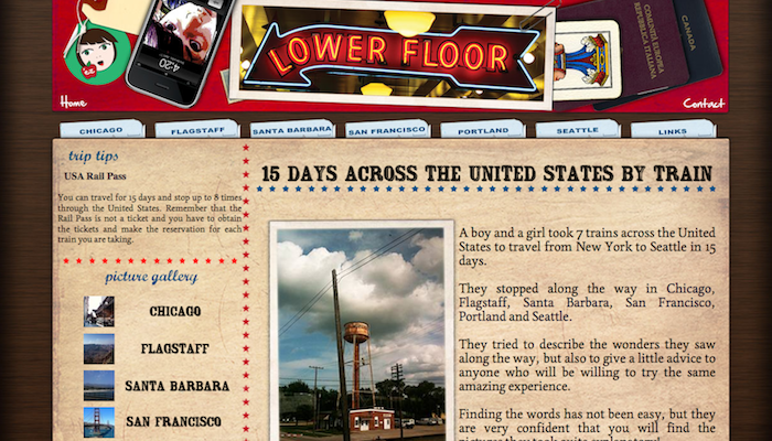 Thumbnail for Screenshot of Lowerfloor website